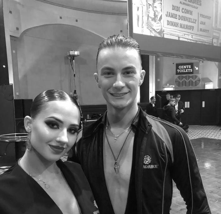 Kacper Rutka i Sara Litorowicz