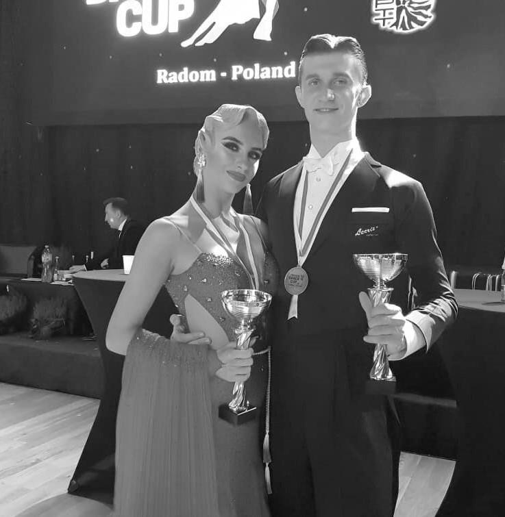 Daniel Mrozek i Julia Domaradzka